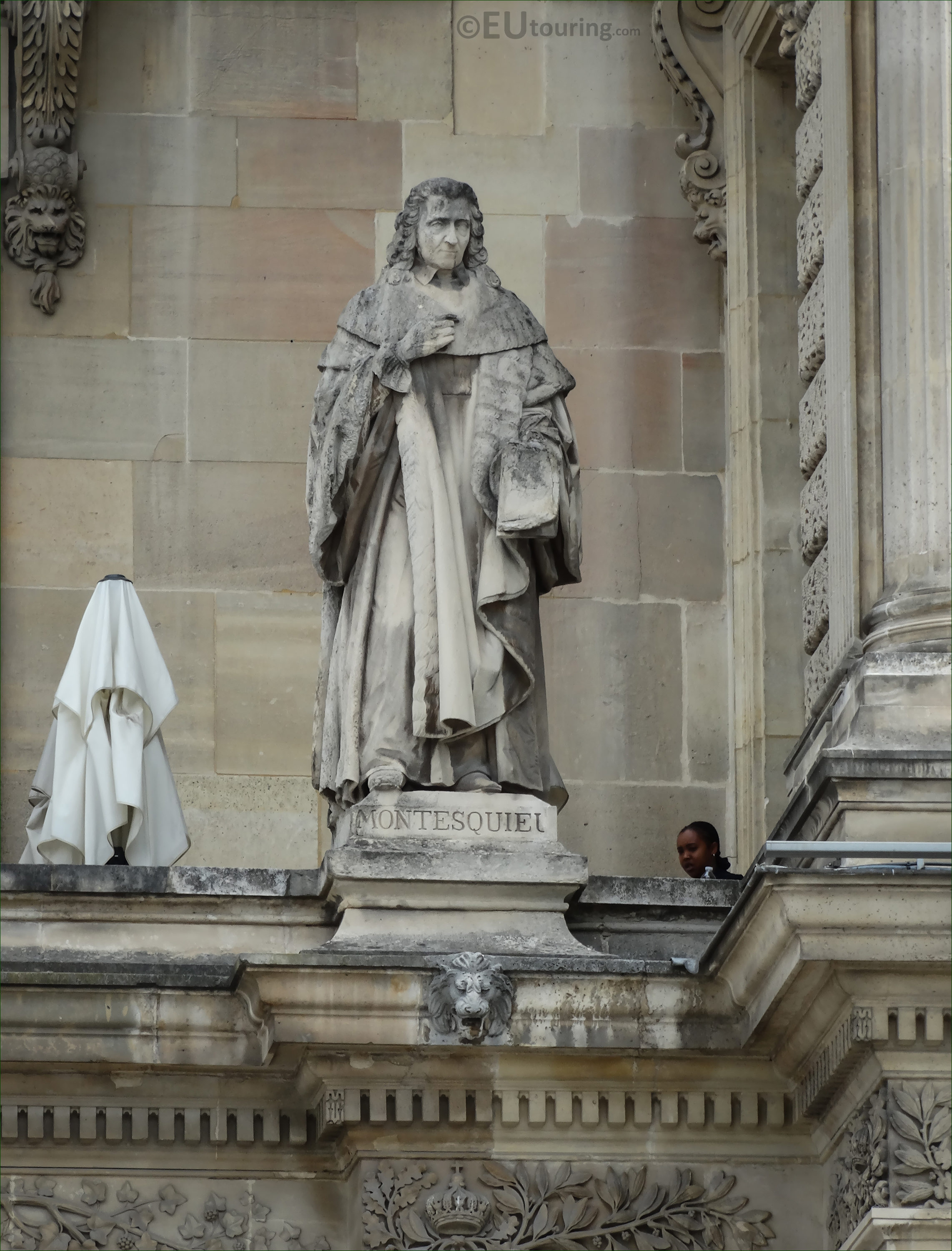 Photos of Montesquieu statue at Musee du Louvre - Page 360