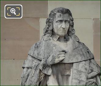 Montesquieu Statue By Charles-Francois Nanteuil-Leboeuf