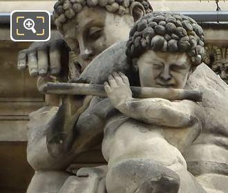 La Paix Statue By Antoine Louis Barye
