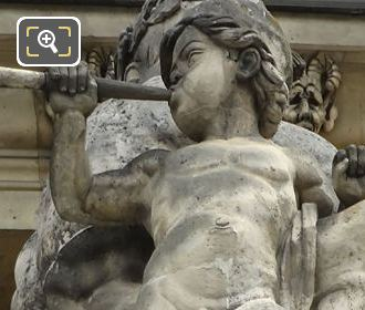 La Guerre Statue By Antoine Louis Barye