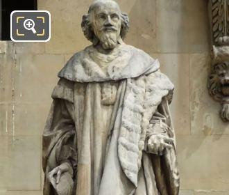 Nanteuil 1857 Statue Of Mathieu Mole