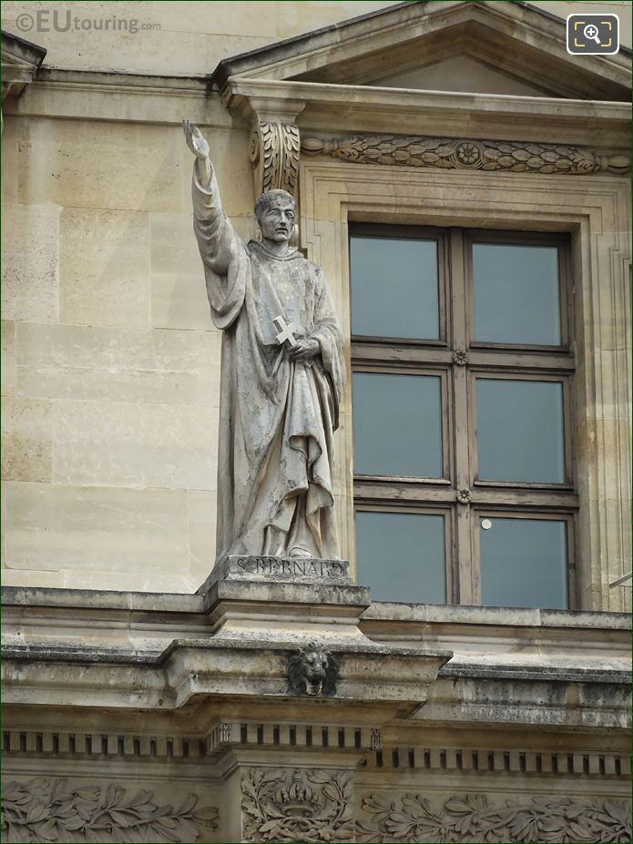 Saint Bernard Statue On Aile Colbert