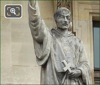 Saint Bernard Statue By Francois Jouffroy