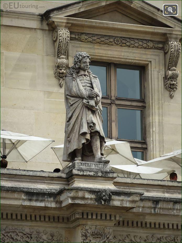 Jean De La Bruyere Statue On Aile Colbert