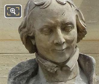 Louis Bourdaloue Statue By Sculptor Louis Desprez