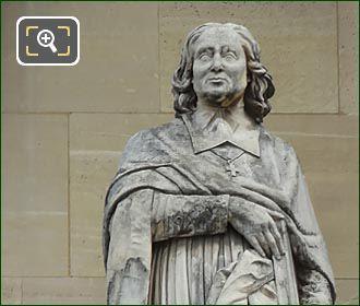 Jacques-Benigne Bossuet Statue By Louis Desprez