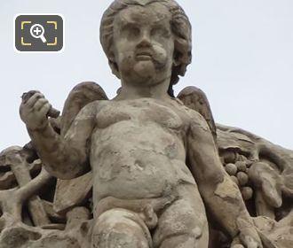 La Vendange Statue By Jacques Francois Walcher
