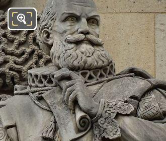 Duc De Sully Statue By Vital Gabriel Dudray