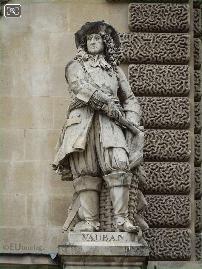 S P Vauban Statue On Rotonde De Beavais