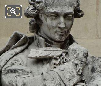 Antoine Lavoisier Statue By Jacques-Leonard Maillet