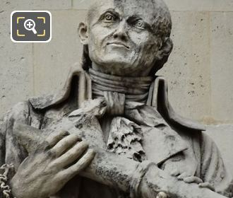 J Lalande Statue By Jean-Joseph Perraud
