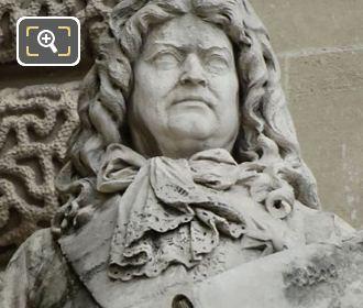 Marquis De Louvois Statue On Aile Henri IV