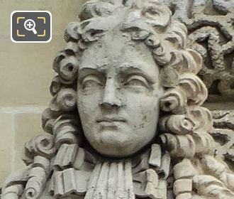 Saint Simon Statue By French Sculptor Pierre Hebert