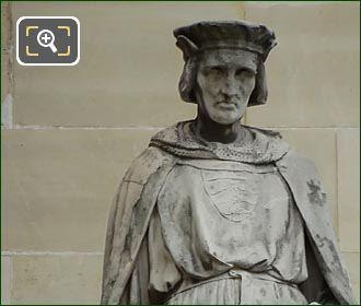Jean De Joinville Statue By Jean Esprit Marcellin