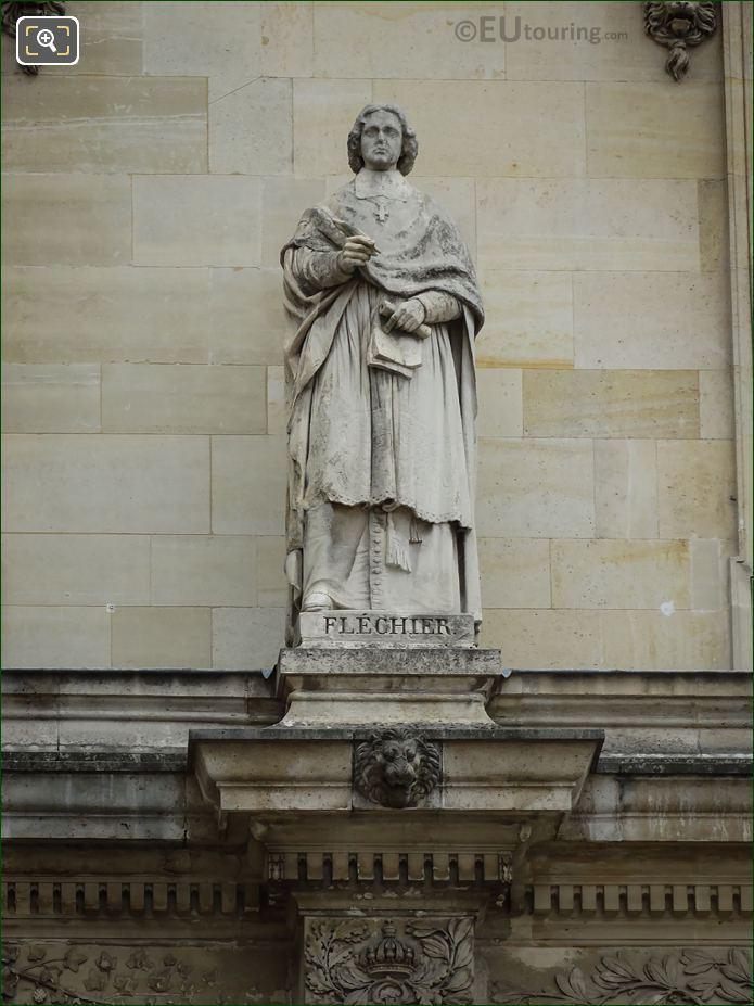 Esprit Flechier Statue On Aile Henri IV