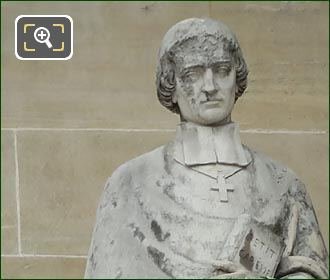 Jean-Baptiste Massillon Statue By Francois Jouffrey