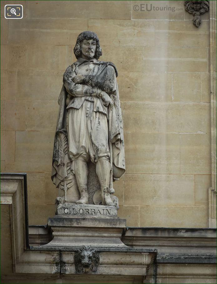 Claude Lorrain Statue On Aile Henri II