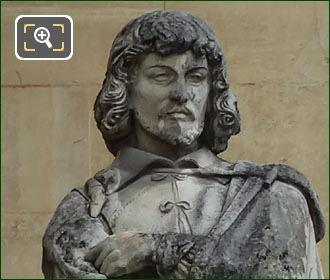 Claude Lorrain Statue By Auguste-Hyacinthe De Bay