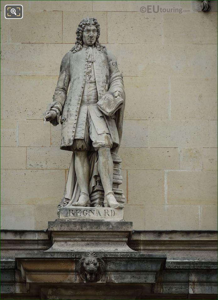 Jean-Francois Regnard Statue On Aile Henri II