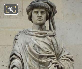Jacques Coeur Statue By Elias Robert