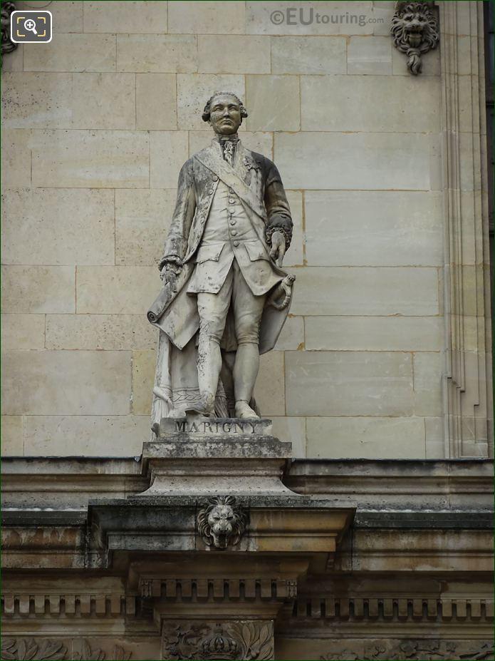 Enguerrand De Marigny Statue On Aile Henri II