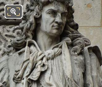 Jean-Balthazar Keller Statue By Pierre Alfred Robinet