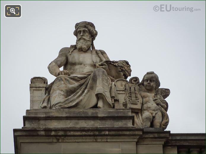 L'Art Grec Statue By Bernard Gabriel Seurre