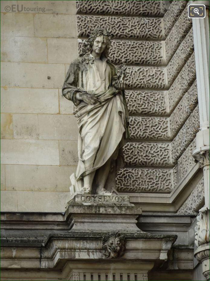 Antoine Coysevox Statue On Aile Henri II