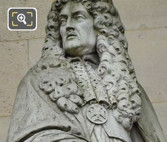 Le Notre Statue At Musee Du Louvre Paris