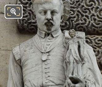 Germain Pilon Statue By Vital Louis Desprez