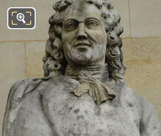 Ange-Jacques Gabriel Statue By Auguste Courtet