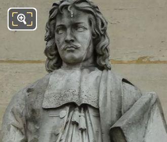 Jean Lepautre Statue On Rotonde d Apollon Wing