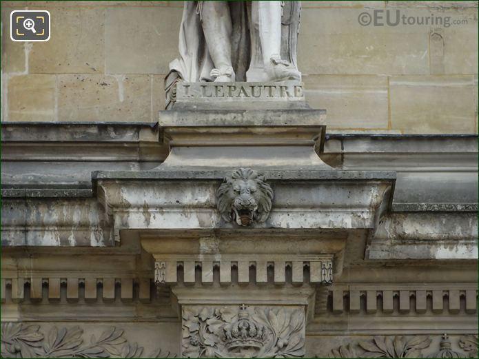 Statues Inscription Lepautre