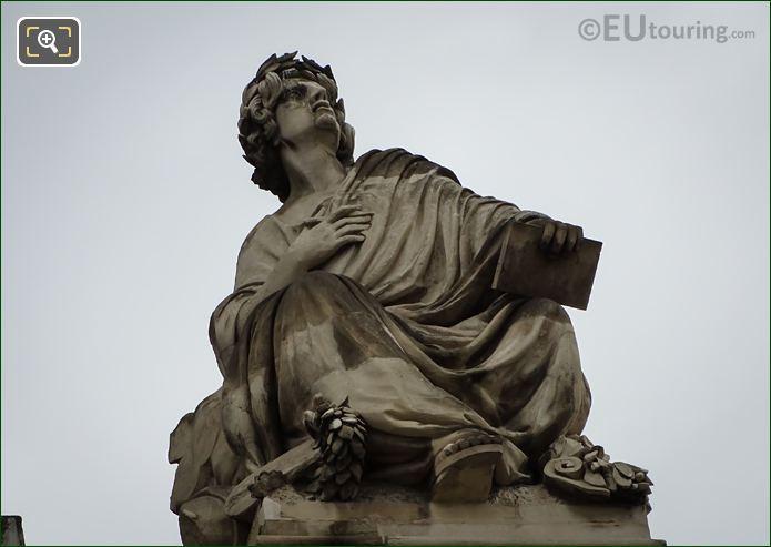 L'Art Statue By Auguste Ottin