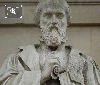 Michel De l Hopital Statue Sculpted By E Guillaume