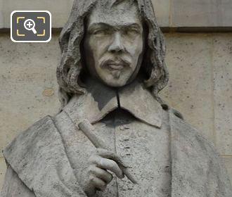 Rene Descartes Statue By Gabriel Joseph Garraud