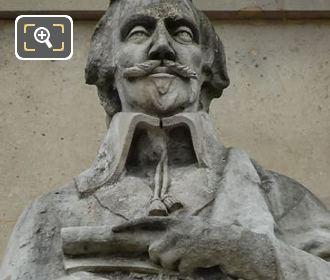 Cardinal Richelieu Statue At Musee Du Louvre