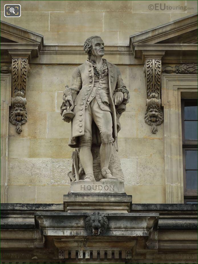 Jean-Antoine Houdon Statue On Aile Daru