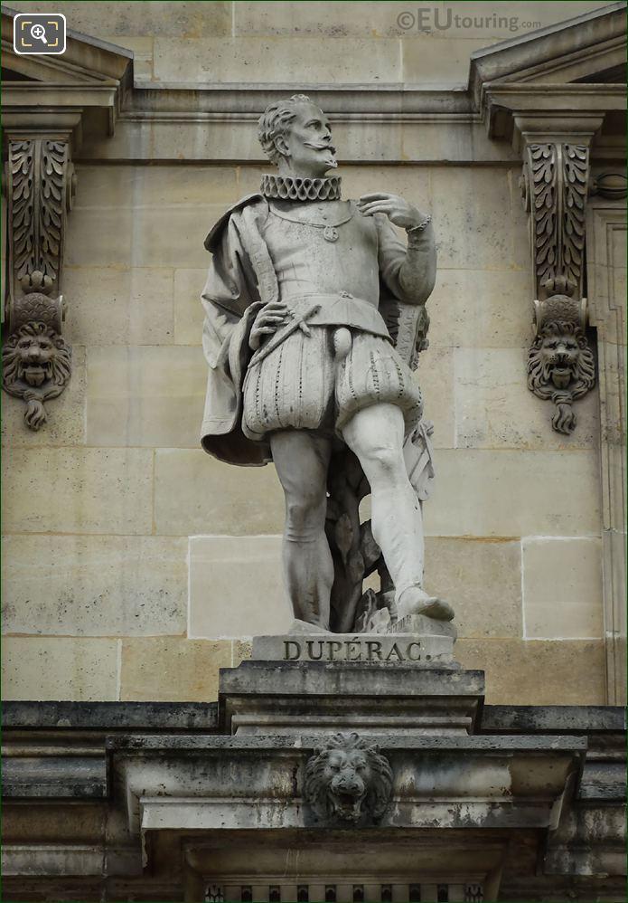 Etienne Duperac Statue On Aile Daru