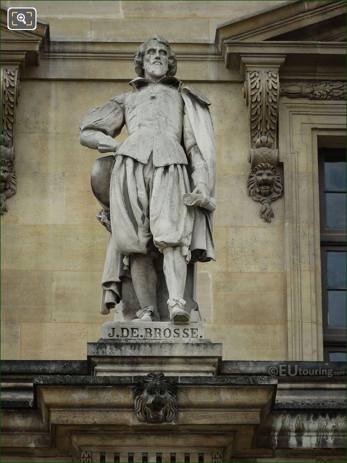 Jean De Brosse Statue By Auguste Ottin