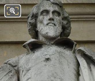 Jean De Brosse Statue At Musee Du Louvre