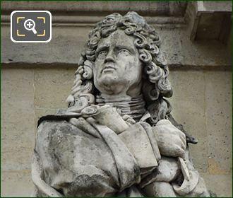 Jules Hardouin Mansart Statue By Jean Joseph Perraud