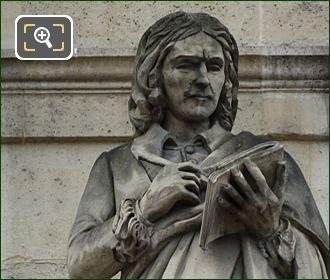 Nicolas Poussin Statue By Francois Rude
