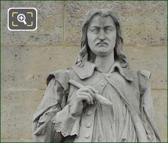 Philippe De Champagne Statue By Louis Alphonse Eudes