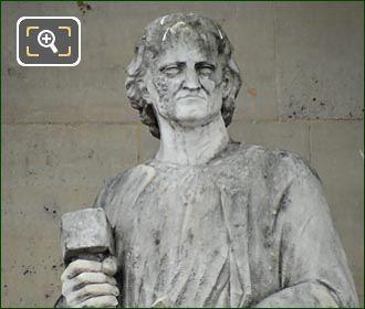 Pierre Puget Statue By Antoine Etex