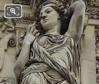 RHS Caryatid By Pierre Jules Cavelier