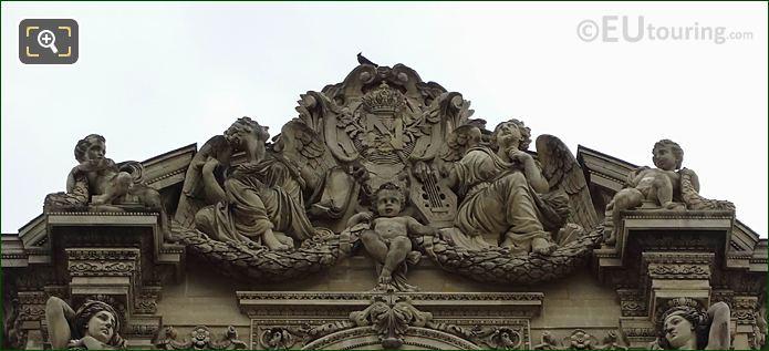 L'Histoire Et La Poesie Sculpture By Pierre Jules Cavelier