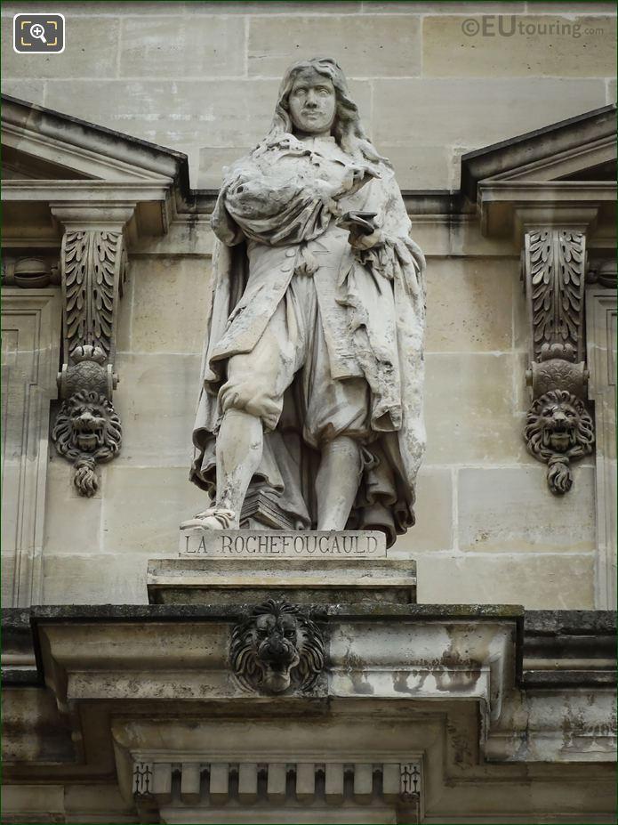 La Rochefoucauld Statue By Noel Girard