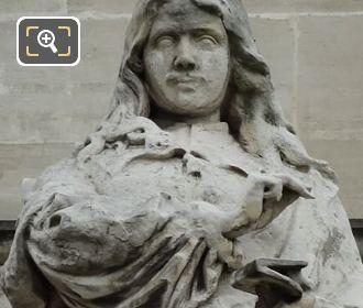 Aile En Retour Turgot Statue La Rochefoucauld