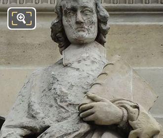 Francois Fenelon Statue On The Louvre